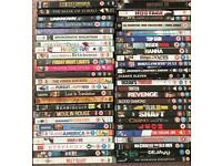 DVD's collection of 50 various films