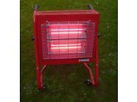 Infrared Halogen Heater 1.5 or 3.0kW