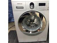 Samsung Washing Machine **Silver 8kg Ecobubble**. £100