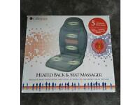 Heated Back and Seat Massager RRP £45