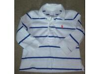 Ralph Lauren boys long sleeve polo top