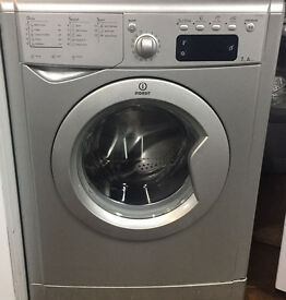 Indesit IWE7145 7kg 1400 Spin Silver LCD A Rated Washing Machine 1 YEAR GUARANTEE FREE FITTING