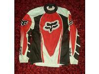 Fox Racing long sleeved cycle shirt (Large)