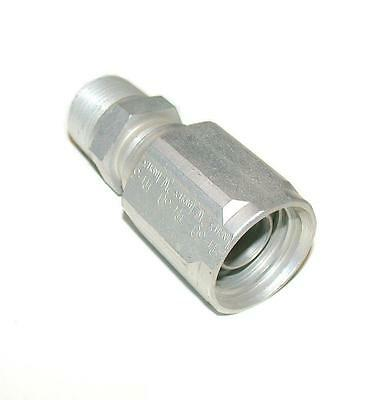 New Skive Ph-30 1inch X 2w R2 Aluminum Reusable Hydraulic Hose Fitting