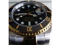Rolex Submariner two tone