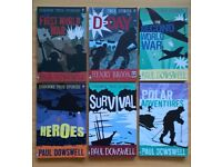 Set of 6 Children's books - non-fiction Usborne True Stories