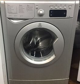 Indesit IWE81252S 8kg 1200 Spin Silver LCD A Rated Washing Machine 1 YEAR GUARANTEE FREE FITTING