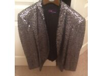 Sequin jacket size 20