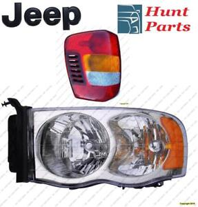 All Jeep Head Lamp Tail Headlight Headlamp light Fog Mirror Phare Avant Arrière Antibrouillard Lumière Brouillard Miroir
