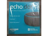 Used, AMAZON ECHO DOT 3RD GENERATION BRAND NEW AND SEALED L@@K for sale  Prudhoe, Northumberland