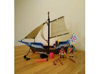Playmobil 5140 Pirates Redcoat Battle Ship