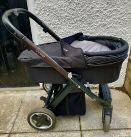 Oyster Travel System - Carrycot / Pram and Stroller / Pushchair