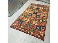 "Beautiful hand-knotted Persian Bakhtiar 275x145cm (9'x4'75"") 1990-2000"
