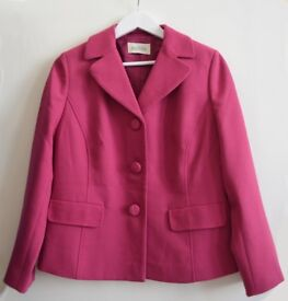Eastex Pink Jacket (part of a two-piece suit) Size 12