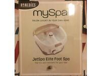 My spa elite foot spa