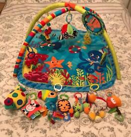 Activity Play mat & bunch of toys
