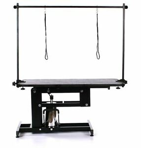 H bar for grooming table