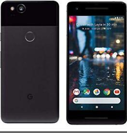 Google pixel 2 64gig on o2