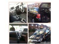 Vauxhall Zafira 07 black