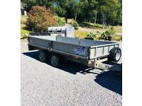 Ifor Williams LM125G dropside trailer £1490 + VAT (£1788).