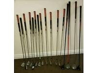 Good Golf clubs but with a wrong person