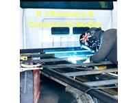 Recovery body builder Car transporter builder recovery body built beavertail tilt and slide