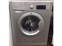 Indesit IWE81252S 8kg 1200 Spin Silver LCD A Rated Washing Machine 1 YEAR GUARANTEE FREE DEL N FIT