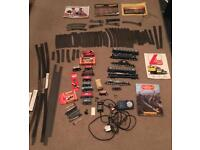 Hornby and Lima model train job lot track trains and catalogues