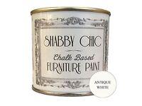 Shabby chic paint. Antique white 1 litre