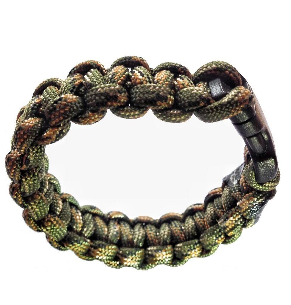 Handmade Camo Paracord Bracelet