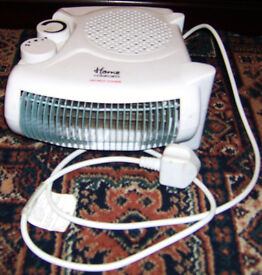 Electric fan Heater only used a couple of times good working order.