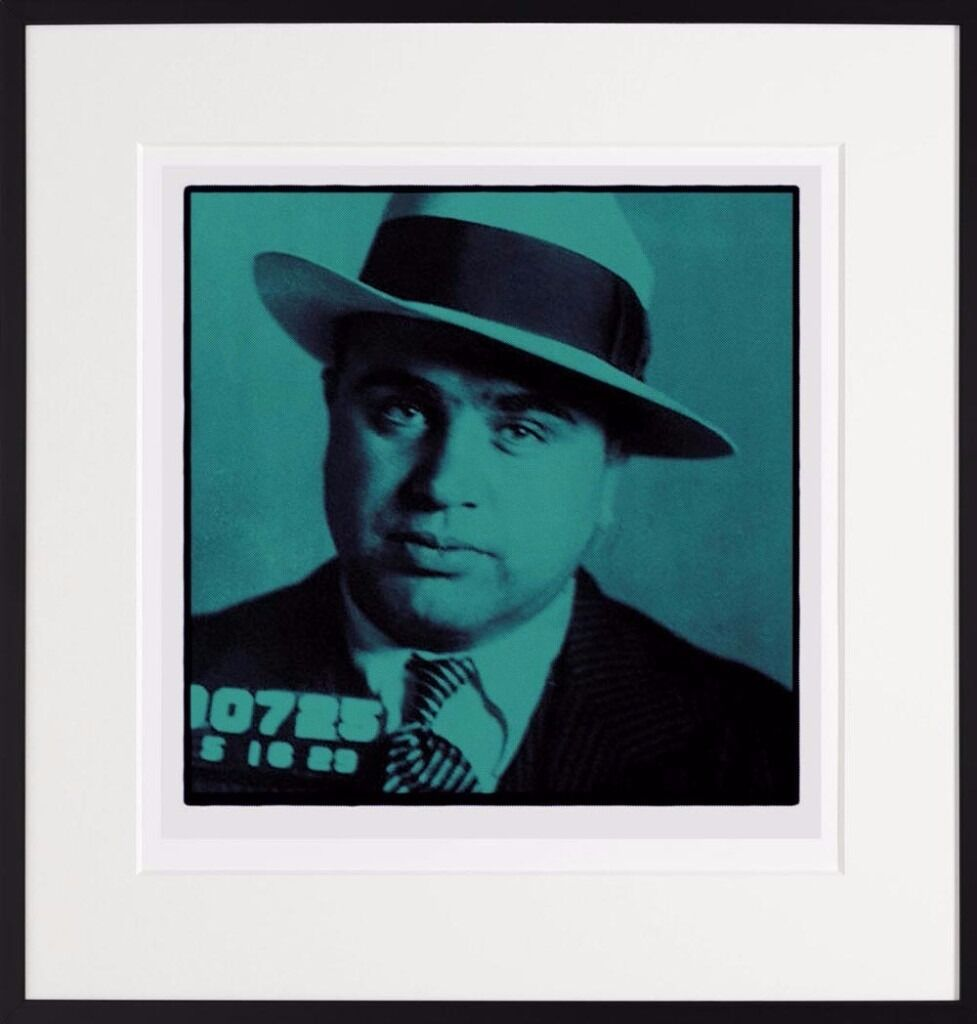 Al Capone ltd edition print on giclee edition size 495