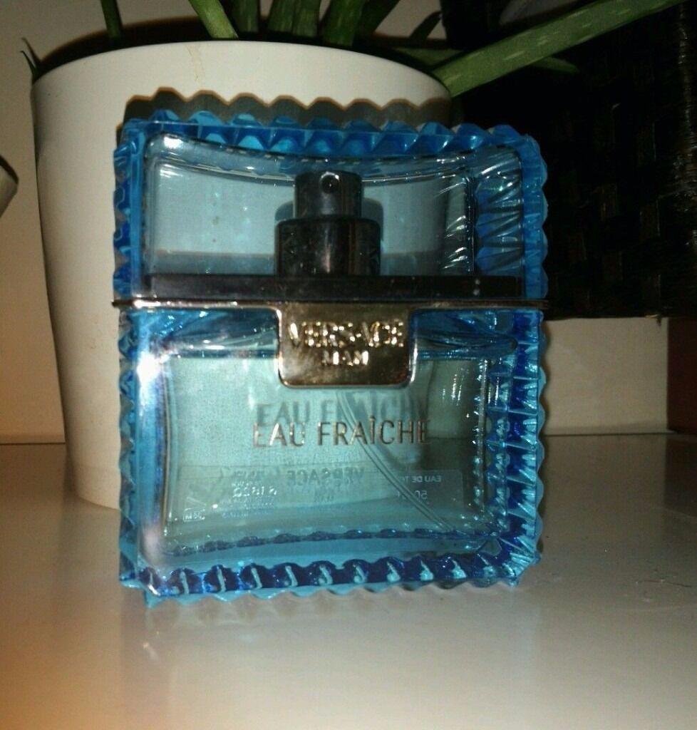 Versace Eau Fraiche Man Eau de Toilette for Men 50 ml used genuine