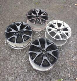 "18"" Vauxhall corsa/zafira/meriva VXR 1.6 turbo alloy wheels"