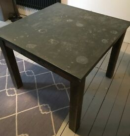 Ivy Design Premium White Folding Mirror Table For Sale In Palmers - Picture-table-by-ivydesign