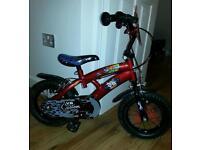 Kids 12.5inch bike with stablisers £50
