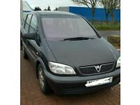 Zafira 7 seater 1.6 98k mot may 2018
