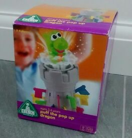 ELC Puff the Pop Up Dragon game. New ! Smoke free and pet free home. Ages 3-6