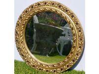 Glass mirror (round)