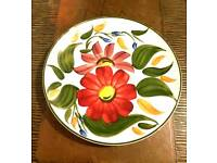 X 3 Wade Pottery Dinner / Display Plates