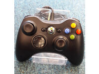 Official XBOX 360 Wired Controller Black