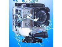 Sport Camera Outdoor Action, Desh cam , Personal Waterproof Camera similar to GoPro