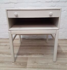 Painted Bedside Table (DELIVERY AVAILABLE FOR THIS ITEM OF FURNITURE)