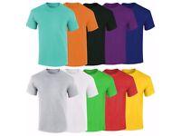 Basic Round Neck T-Shirts - Make To Order