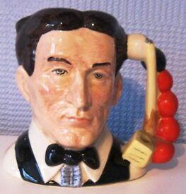 Royal Doulton character/toby jug - The Snooker Player