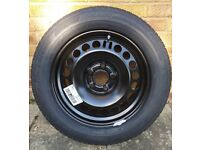 Vauxhall Full Size Wheel 17 inch and Bridgestone Tyre New!