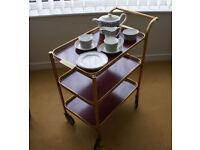 Tea trolley - attractive yet practical piece of furniture