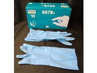 Marigold Blue Nitrile Inspection Gloves BOX OF 25 PAIRS ONLY £4 Size Large (Mens) Collect B63 3SW