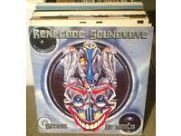 Oldskool Vinyl-50x 12''-Late 80's to early 90's - House, Hardcore, Techno (full list in description)
