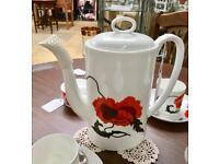 Wedgwood tea cups etc. CHRISTCHURCH